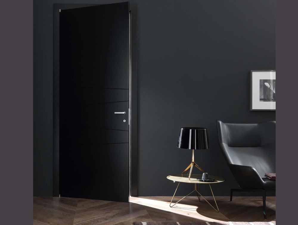 Stunning bloc porte interieure noire ideas design trends 2017